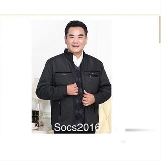 Áo khoác dạ trung niên( có ảnh thật)
