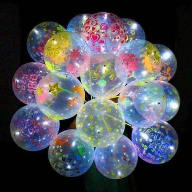 Combo 10 quả bóng phát sáng kèm que cầm