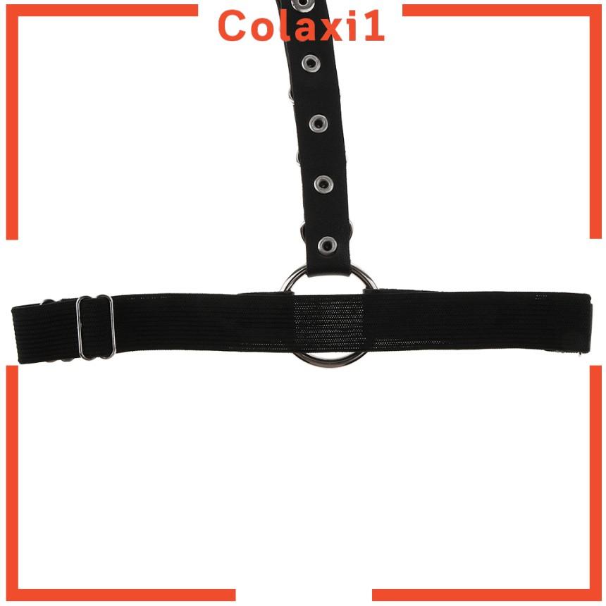 Elastic   Leather   Strap   Body   Suspender   Punk   Rock   Thigh   Garter   Belt   Leg   Harness