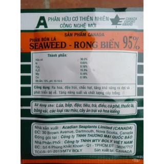 Phân bón lá – phân hữu cơ Rong biển