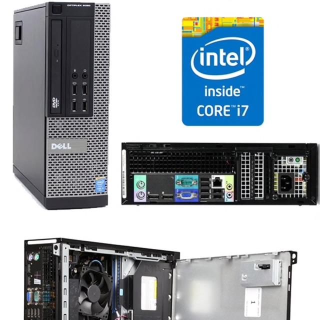 xác máy tính đồng bộ dell 7020 sff socket 1150, renew fullbox Giá chỉ 1.250.000₫