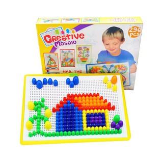Bộ đồ chơi ghép hạt nhựa Creative Mosaic KA015-2633 GIẢM 30%