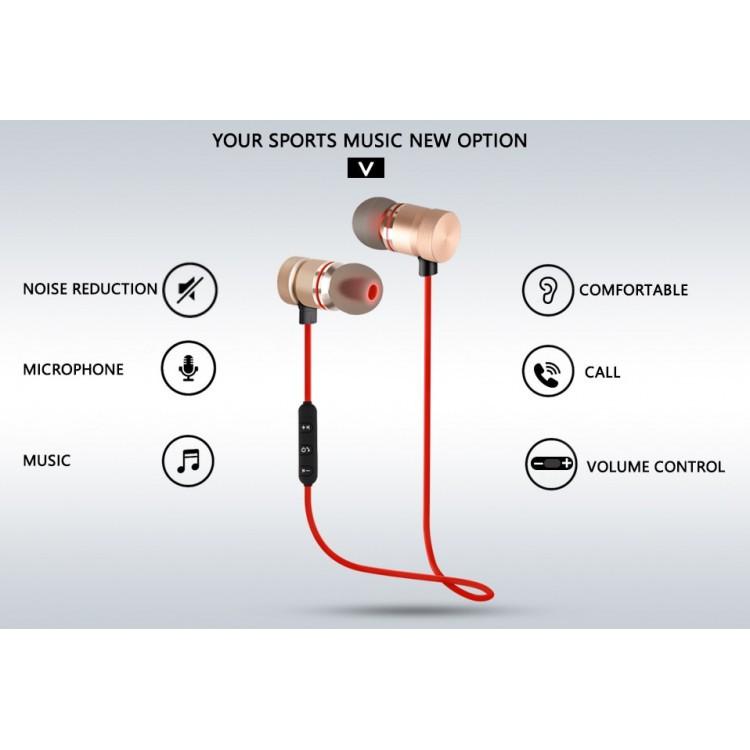 [Rẻ Vô Địch] Tai Nghe Bluetooth Thể Thao S8 - Âm Thanh Siêu Bass - Dùng Được Tất Cả Dòng Máy