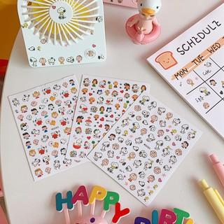 Sticker Mini Đa Năng Dán Trang Trí Sổ, Dán Móng Snoopy Charlie thumbnail
