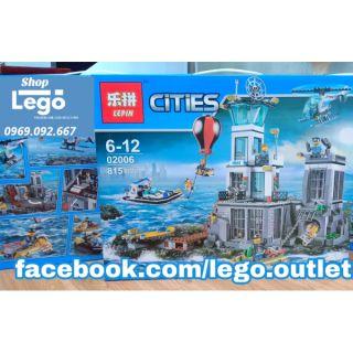 Xếp hình Lepin Cities 02006 thành phố cảnh sát