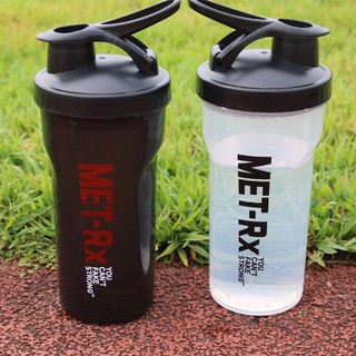 Bình lắc tập gym bình thể thao shake bottle Met-RX