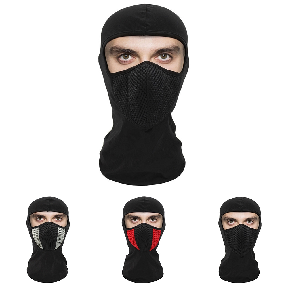Men Women Hiking Skiing Protective Elastic Head Cover Winter Warm Scooter Motorcycle Windproof Cycling Neck Warmer Mask
