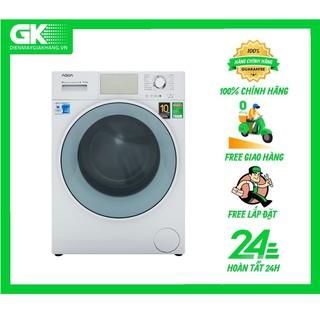 MIỄN PHÍ CÔNG LẮP ĐẶT - D950E W Máy giặt Aqua Inverter 9.5 kg AQD-D950E W