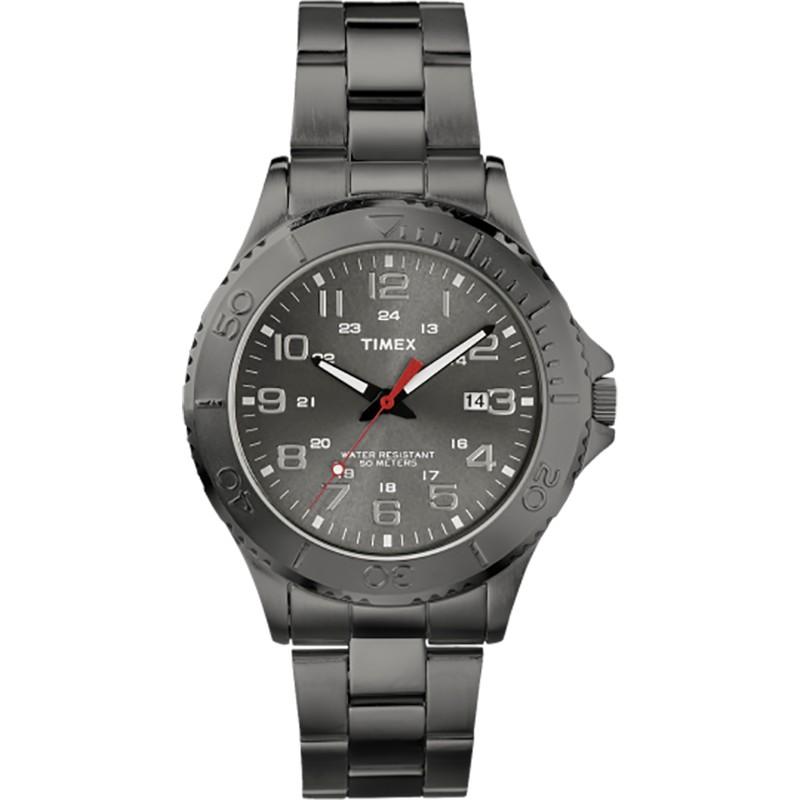 Đồng hồ nam Elevated Classic Timex T2P390 dây đen