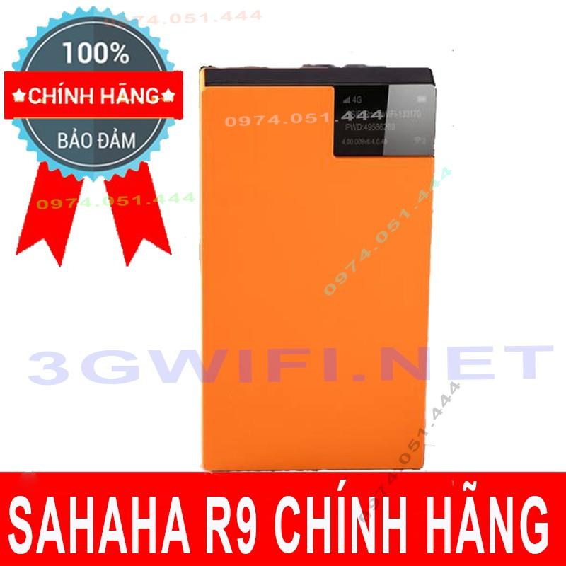 (Rẻ Vô Địch) Bộ phát wifi 4G Sahaha R9 Tốc Độ Cao 150Mbps Không Cần Sim Du Lịch 190 Nước