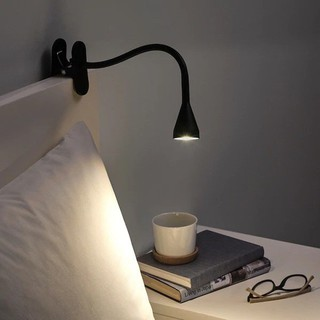 Đèn đọc sách Led 3W USB Vita-A291 tích hợp đèn ngủ – Màu đen