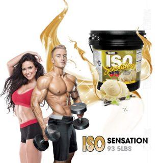 COMBO 1Kg Tăng Cơ Nhanh Whey ISO93 Sensation Chính Hãng BestNutritrion