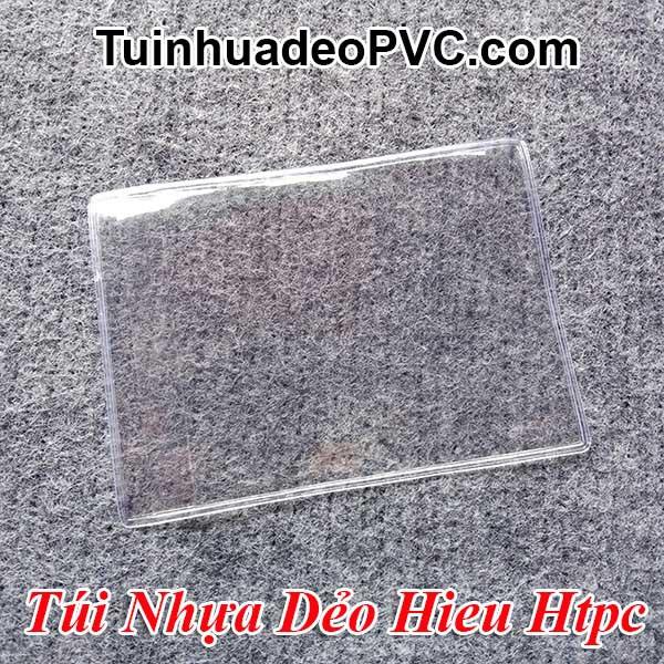 Bộ 2 Túi Nhựa Dẻo PVC bảo vệ Chứng minh Nhân Dân Cũ