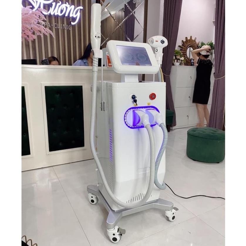 Máy Triệt Lông Diode Laser 808 2in1 Xóa Xăm 2021 / Bảo hành 12 tháng