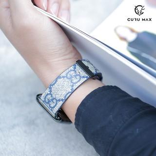 Dây da Apple Watch mẫu GUCCI Cao Cấp