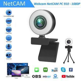 Webcam NetCAM PC 910 độ phân giải 1080P - Hãng phân phối chính thức thumbnail