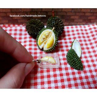 Đồ chơi miniature 1:12_ Combo sầu riêng