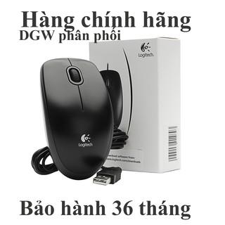 Chuột có dây Logitech B100 mới (DGW phân phối) bảo hành 36 tháng