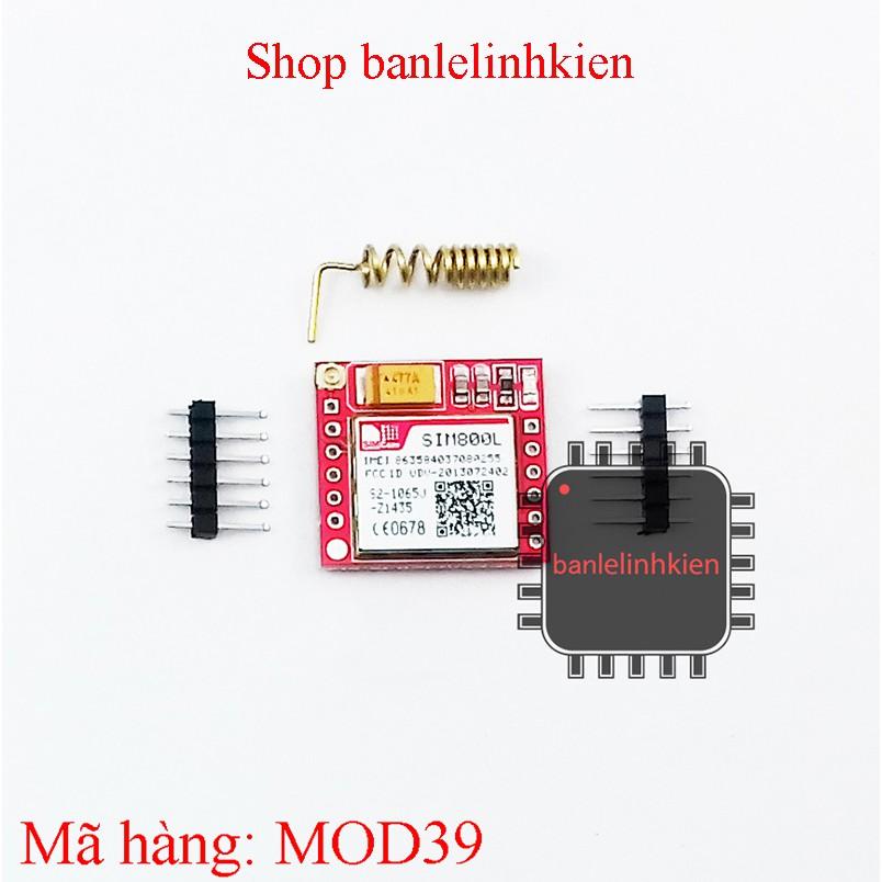 Module truyền thông qua mạng di động SIM 800L