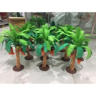 Cây dừa ( đồ dùng mầm non)