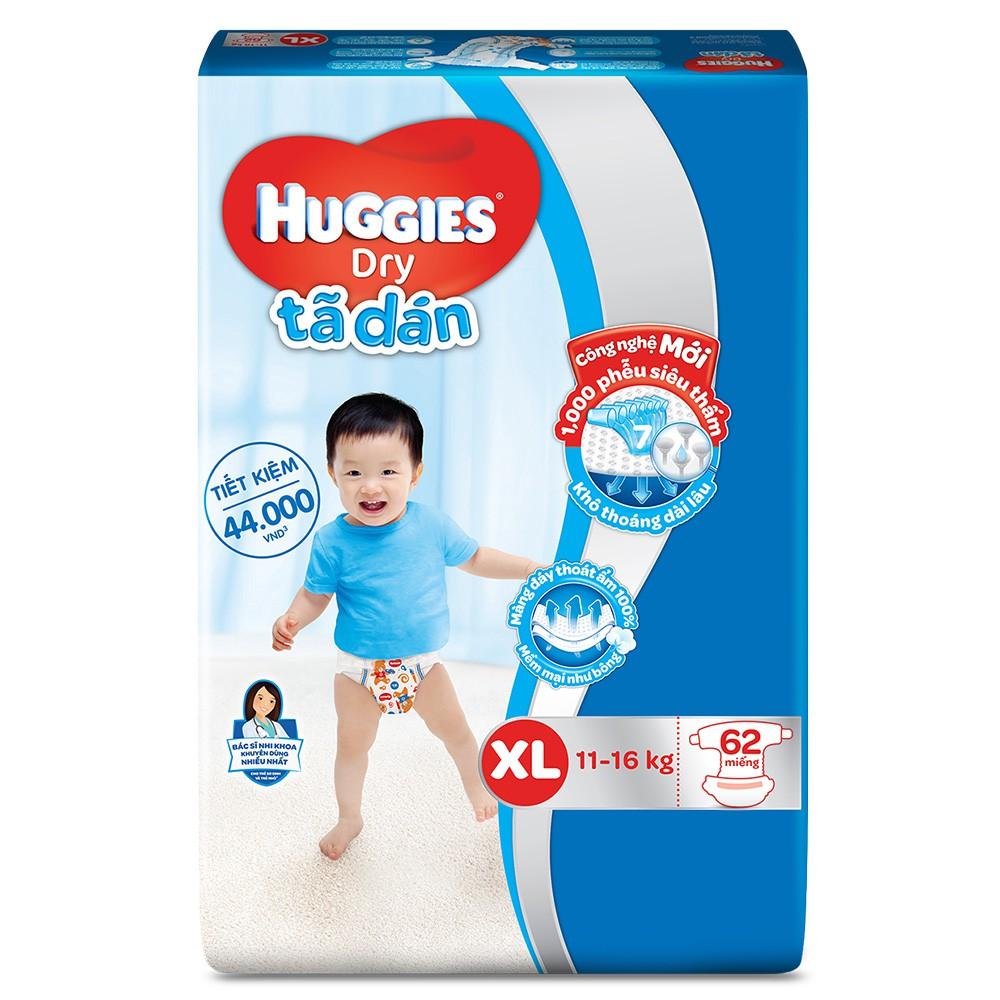 Bỉm dán Huggies XL62 (11-16kg)