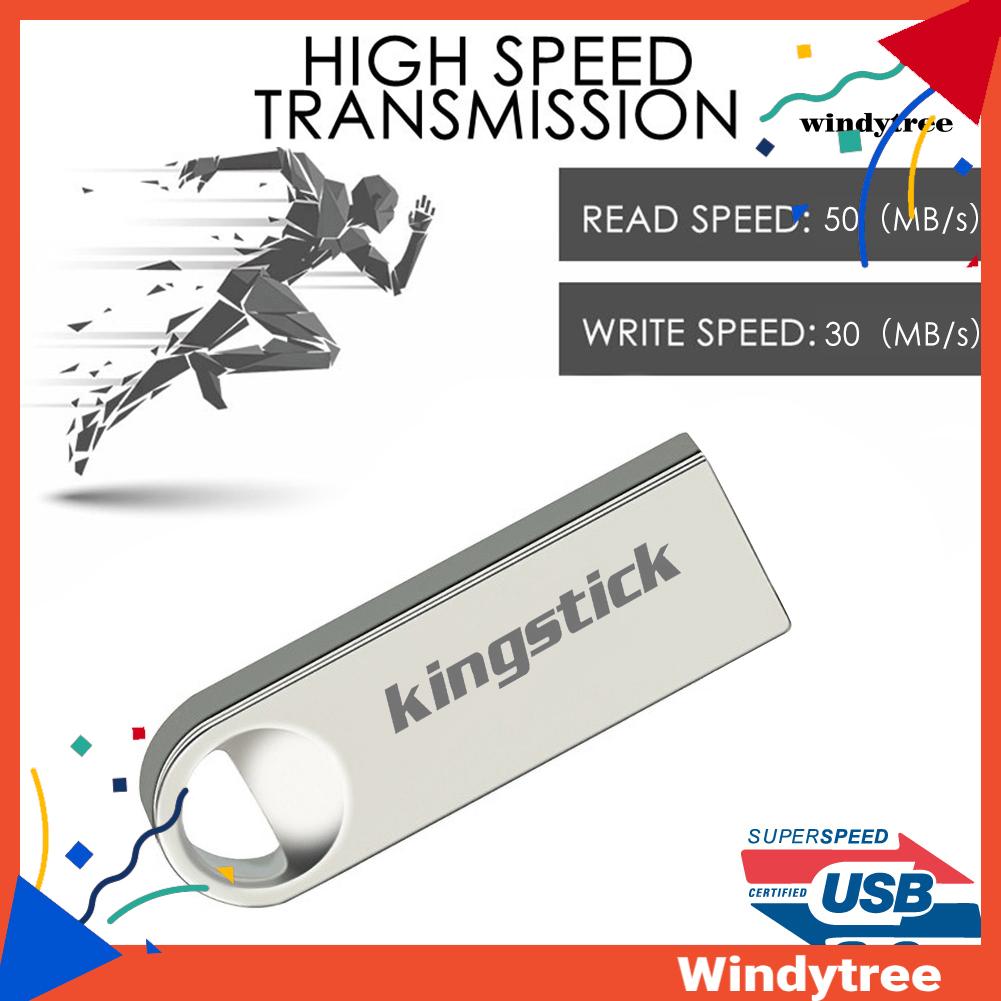 Ổ Đĩa Flash Kingstick 64 / 128 / 256 / 400gb Mini Bằng Kim Loại