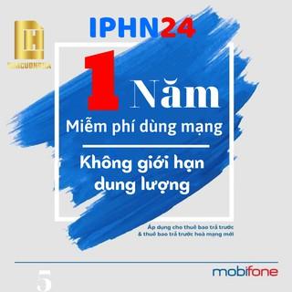 Sim 4G max băng thông [IPHN2-IPHN24] sim mạng mobifone 1 năm không phải nạp tiền – SIMDATA