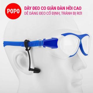 Bộ 2 nút bịt tai EP2 dây quai đeo chống tuột chống nước, tạo cảm giác thoải mái khi đeo và ngăn nước tràn vào tai POPO thumbnail