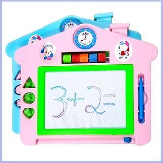 Bảng viết tự xóa thông minh có màu cho bé – Mom&3by