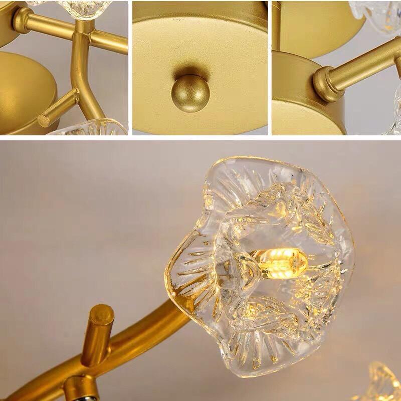 Đèn chùm HEADER 3 màu ánh sáng hiện đại - kèm bóng LED chuyên dụng