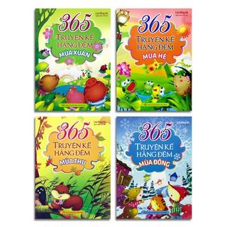 Sách - 365 Truyện kể hằng đêm (bộ 4 cuốn mua lẻ tùy chọn)