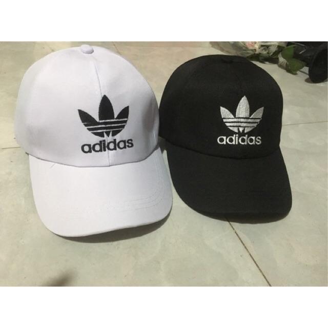 b0b5ce684b4 Mũ lưỡi trai adidas trắng hàng VNXK
