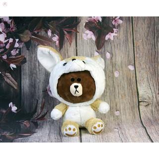 [SALE]Gấu bông gấu Oenpe brown mặc áo lên ngộ nghĩnh
