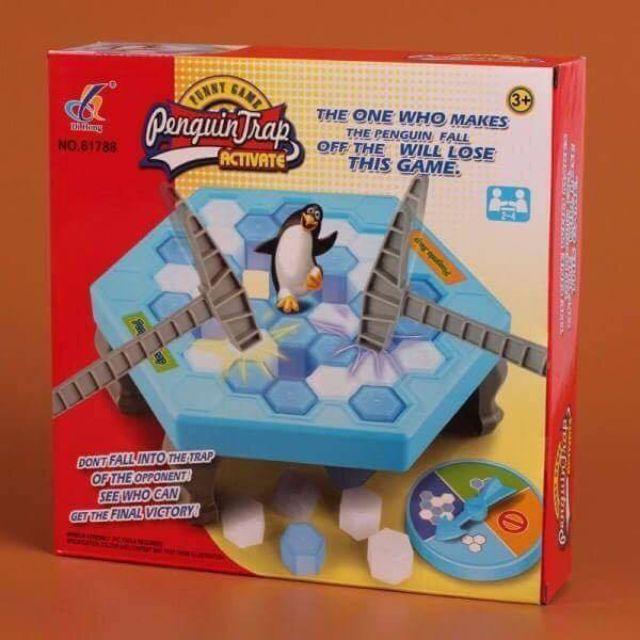 Đồ chơi chim cánh cụt phá băng dành cho bé