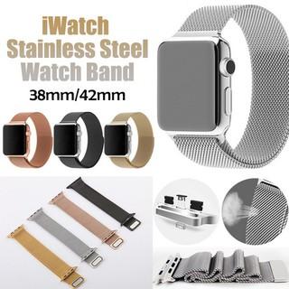 Dây đeo kim loại khóa từ cho Apple IWatch 38 40 42 44mm cho Apple Watch series 1 2 3 4