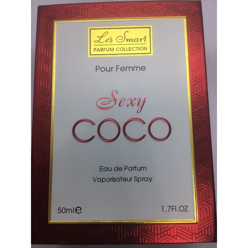 NƯỚC HOA NỮ COCO LES SMART.