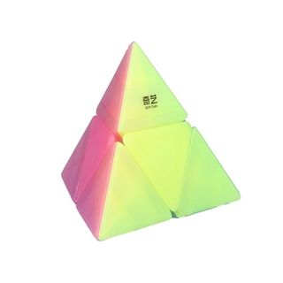 Educational Toy IQ-Cubes QiYi Pyramid Cube 2×2 High Speed Cube Puzzle Magic Box Educational Toys for Kids Adults