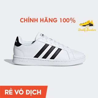 Giày Sneaker Thời Trang Nam Adidas Grand Court Trắng Đen F36483 – Hàng Chính Hãng – Bounty Sneakers