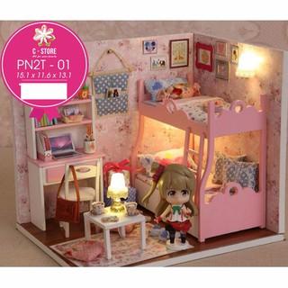 đồ chơi – ghép phòng bé gái
