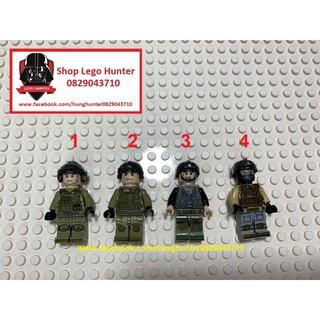 Lego Army Minifigures Lính giá rẻ ( bán lẻ ) thumbnail