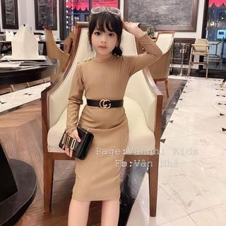 Váy body gân nhũ (20-30kg) cho bé gái