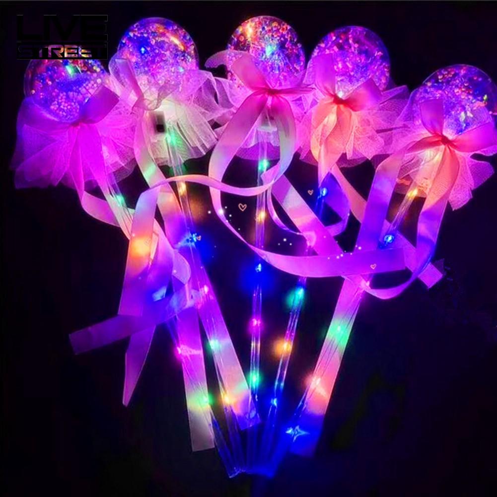 LIVE LED  Ball Glow Stick Magic Wand Toy  Concert Supplies