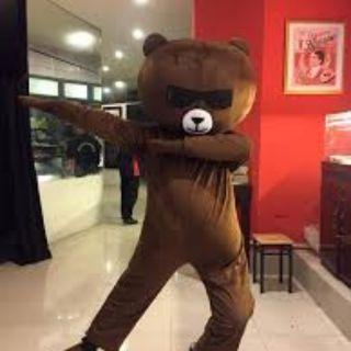 Bộ gấu mascot