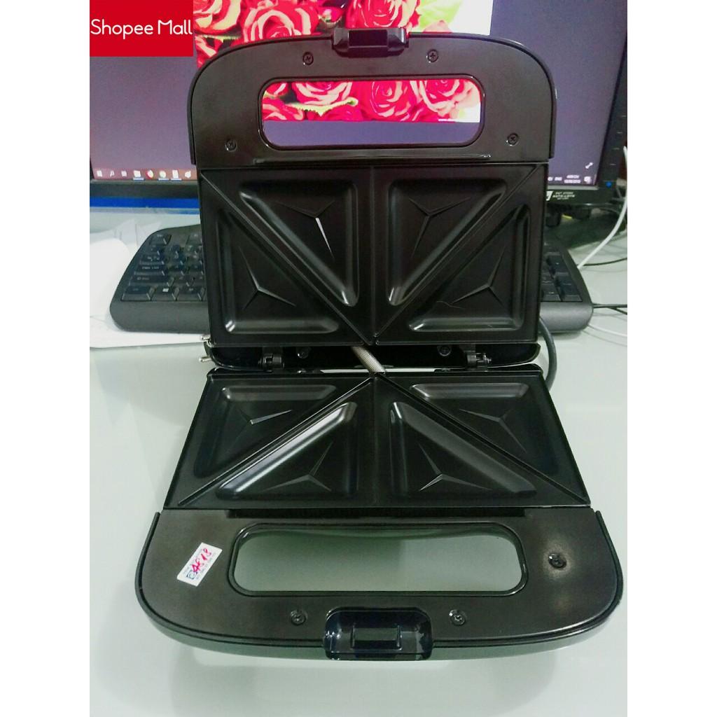 [ELHAF300 giảm tối đa 300K] Thanh lý máy làm bánh Sandwich nướng bánh mỳ Philips HD2393