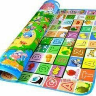 Thảm xốp maboshi 2 mặt cho bé 1m6x2m (Chat chọn màu) Bonbishop thumbnail