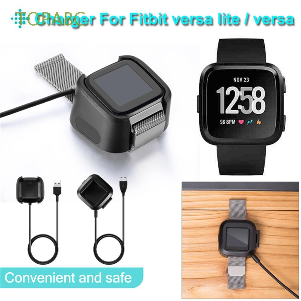 Black Replacement Wristband Bracelet Smart Watch USB Charging Dock