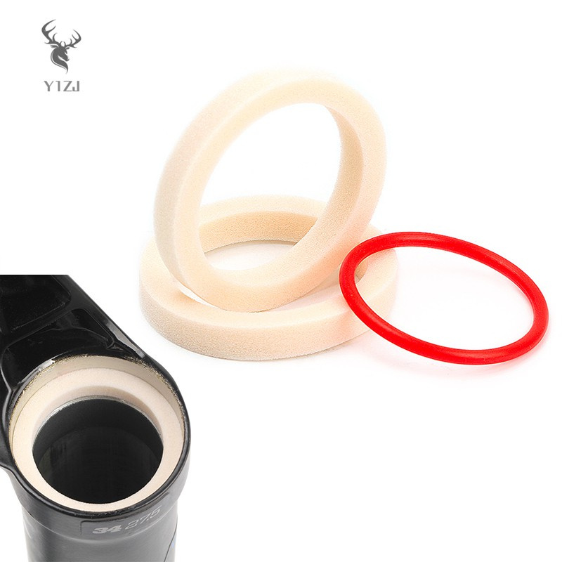 COD& 2 PCS Oil Absorbing Sponges Oil Sealing Durable Easy to Install Lightweight Long Lasting Tear Resistant for Bicycle &VN