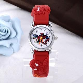 Đồng hồ Trẻ Em Dây Silicon Hình KItty,Doremon
