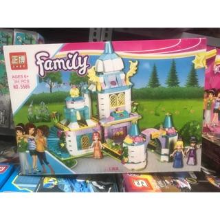 Lego friends biệt thự con gái friend – lâu đài công chúa