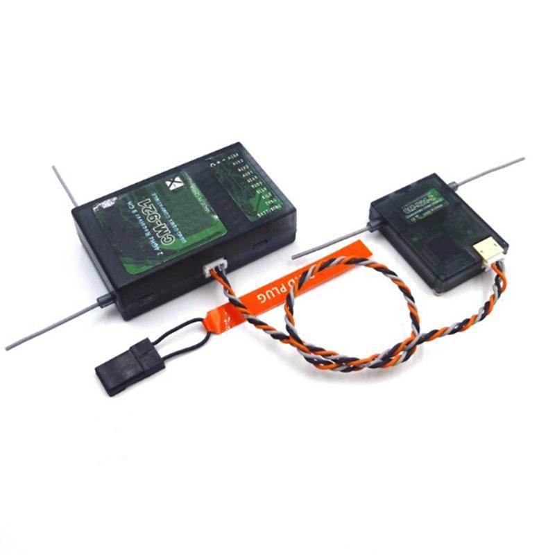 Vogue-2.4GHz 9CH CM921 DSM2 DSMX Compatible Receiver + Satellite Rx Spektrum JR